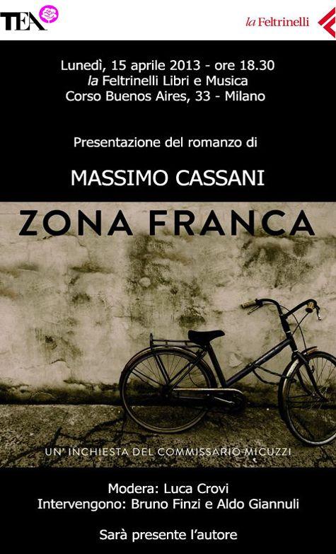 Presentazione in Feltrinelli Milano